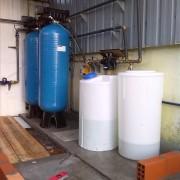 Tratamento para eliminação de ferro, arsénio e manganês